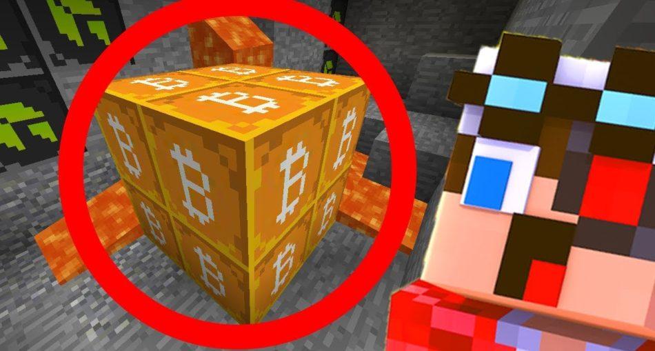 В игре Minecraft можно найти настоящий биткоин